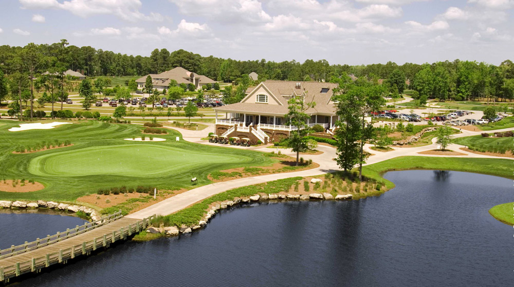 Tigers Eye Clubhouse at Ocean Ridge Plantation