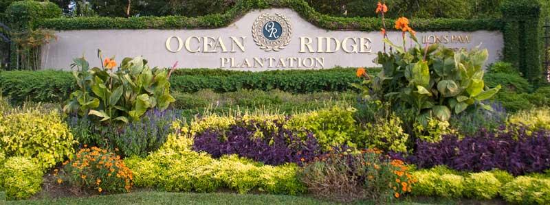 Ocean Ridge Entrance